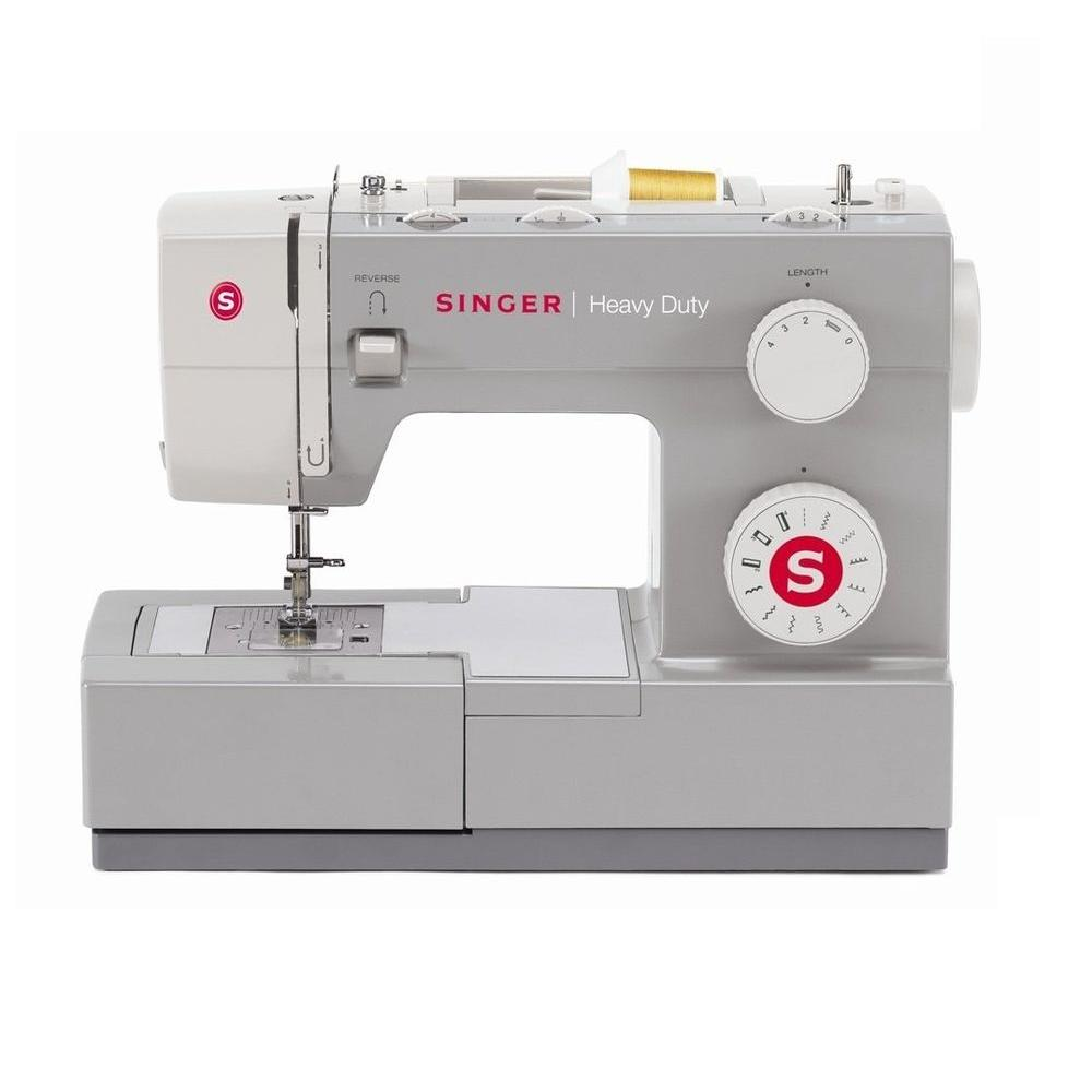 SINGER SEWING CO. 11-Stitch Sewing Machine, Gray