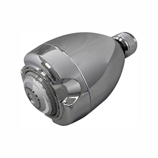 Niagara Conservation Earth 3 Spray 2 7 In Single Wall Mount Fixed 1 25 Gpm Shower Head In Chrome N2912ch The Home Depot