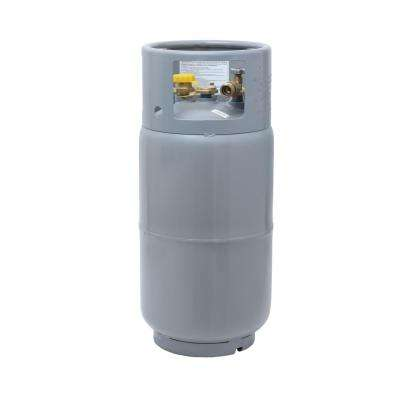 33.5 lbs. Forklift Propane Tank Cylinder LP with Gauge and Fill Valve