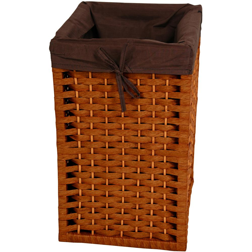 Honey Natural Fiber Basket Trunk