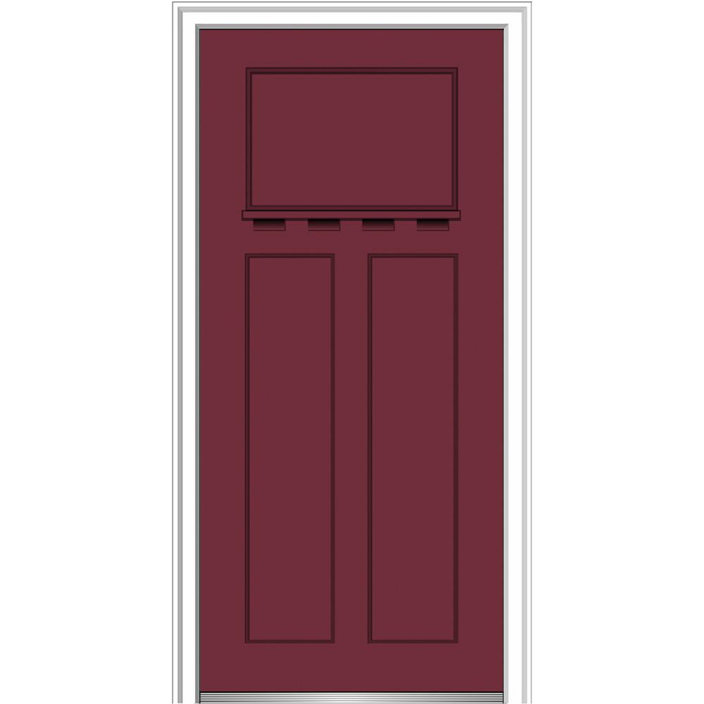 MMI Door 32 In. X 80 In. Shaker Right Hand Craftsman 3