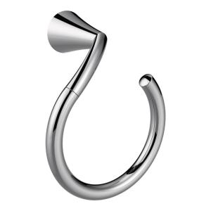 Glyde Towel Ring in Chrome