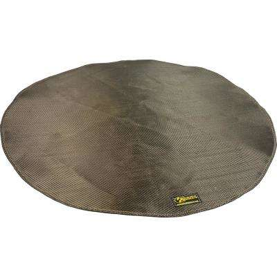 Deck Armor Fire Pit and Deck Heat Shield Round 36 in. Dia Withstands 1200°F Constant