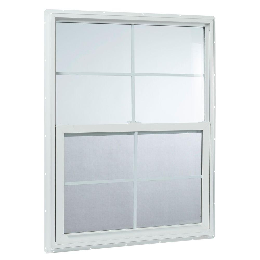 Tafco windows in x in single hung vinyl for Vinyl home windows