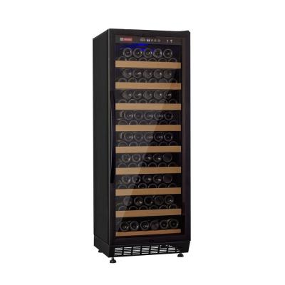 Vite II Single Zone 99-Bottle Black Right Hinge Wine Refrigerator