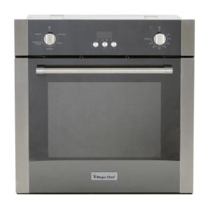 magic chef 24 in  2 2 cu  ft  single electric wall oven with convection