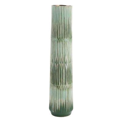 Green Nopal Large Decorative Vase