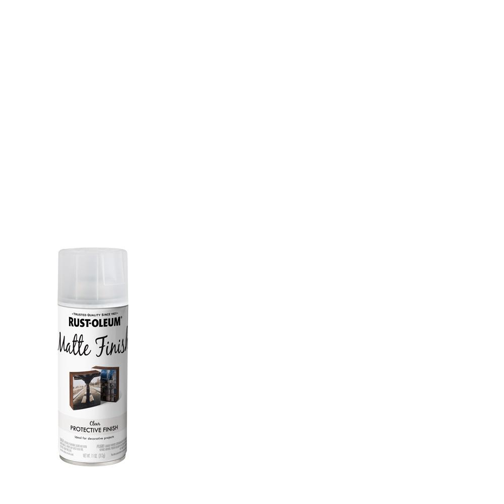Rust-Oleum Specialty 11 oz. Clear Matte Spray Paint