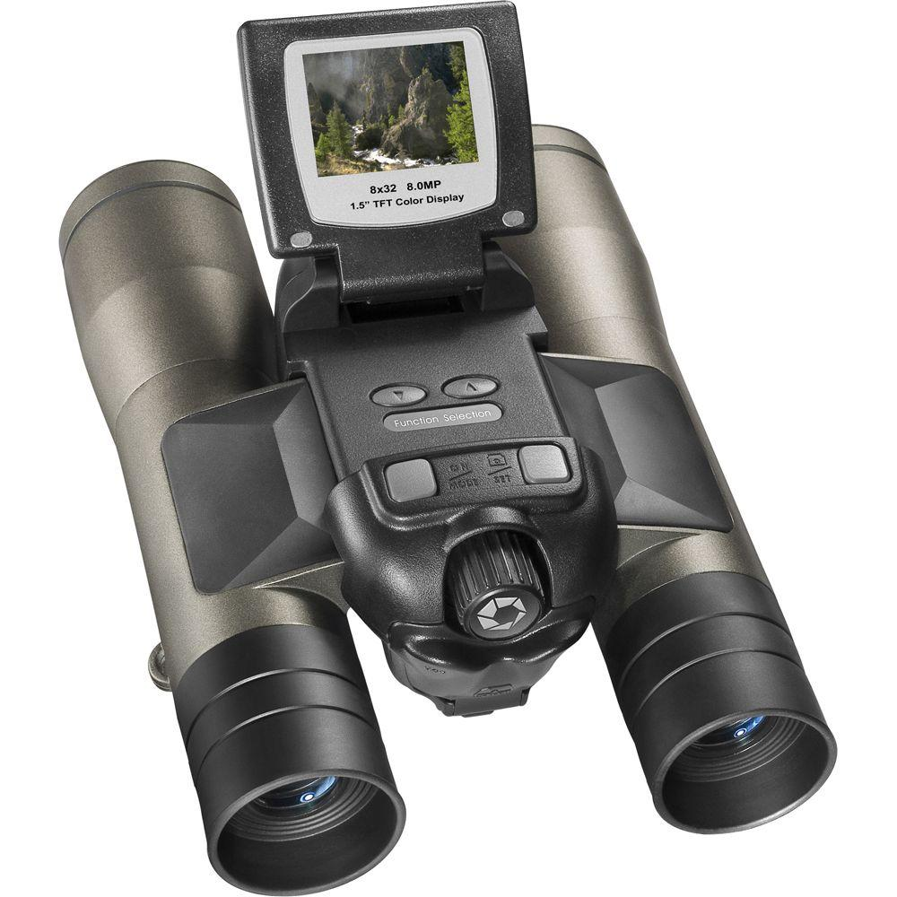 Barska Point N View 8 Mp 8x32 Binocularscamera Ah11410 The Home Depot