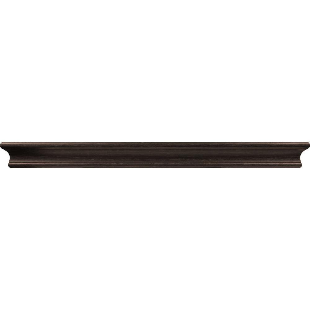 24 in. Espresso Tool Free Floating Shelf