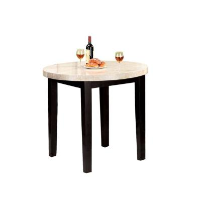 Marion II Espresso Contemporary Counter Height Table