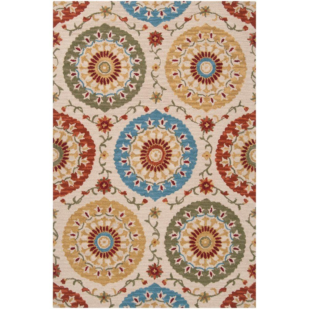 Artistic Weavers Giovanni Ivory 5 ft. x 8 ft. Area Rug