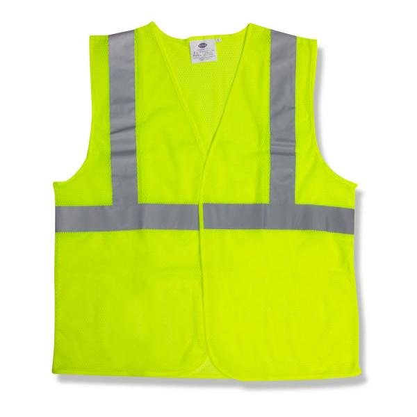X-Large Lime Green High Visibility Class 2 Reflective Type R Safety Vest