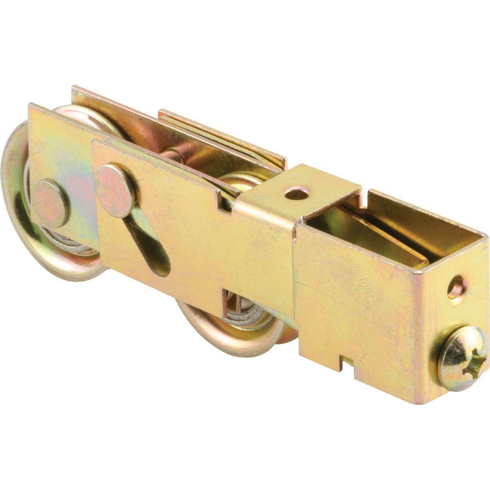 1-1/4 in. Steel Ball Bearing Sliding Door Tandem Roller Assembly with