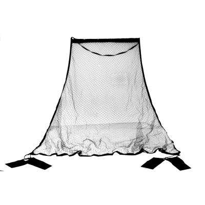 10.9 ft. Basketball Return Net System with 2 Sandbags and Elastic Plastic Hook