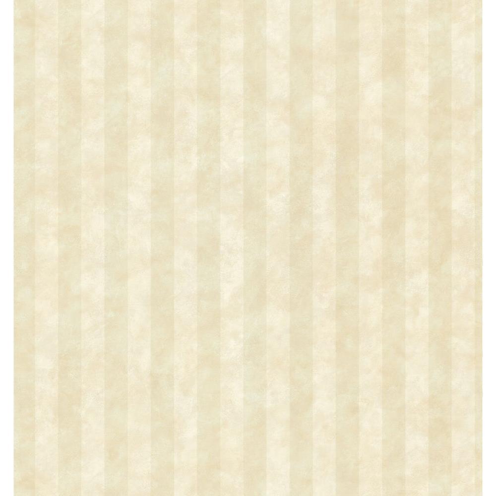 Kitchen and Bath Resource II Neutral Stripe Wallpaper Sample