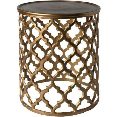 Olyea Tan Accent Table