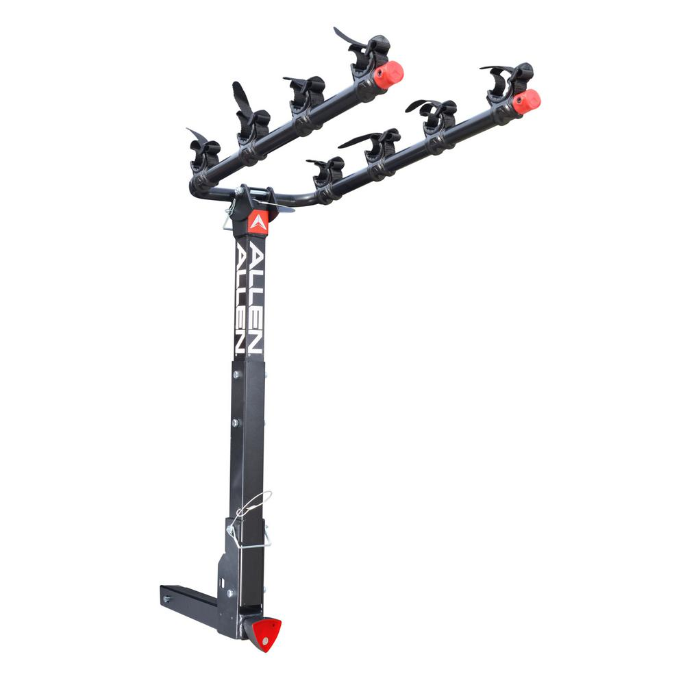 140 lbs. Capacity Locking 4-Bike Vehicle 2 in. Hitch Bike Rack