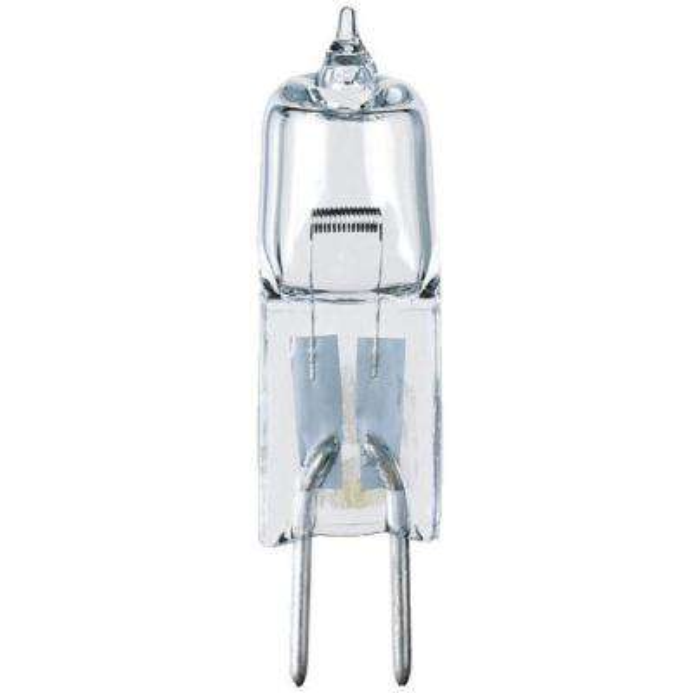 50-Watt Halogen T4 JC Single-Ended Clear GY6.35 Base Light Bulb