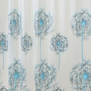 Click here to buy  Allium Shower Curtain in Blue/Black.