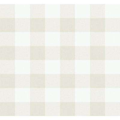 Picnic Plaid Paper Strippable Roll (Covers 60.75 sq. ft.)