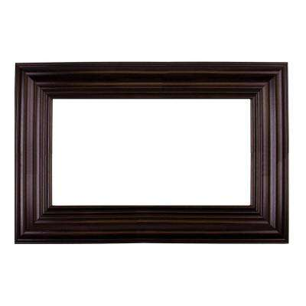 Sonoma 42 in. x 42 in. DIY Mirror Frame Kit in Espresso - Mirror Not Included