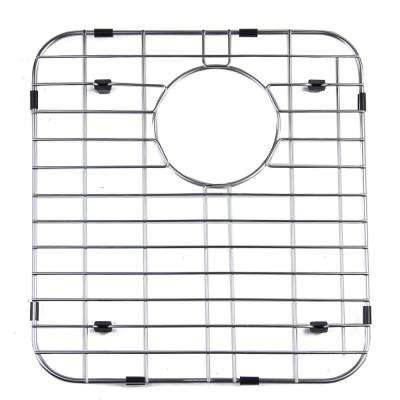 13.75 in. Grid for Kitchen Sinks AB512W in Brushed Stainless Steel