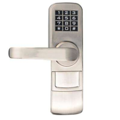 Fully Programmable Electronic Mortise Style Door Lock With Keypad And Left  Hand Swing Doors
