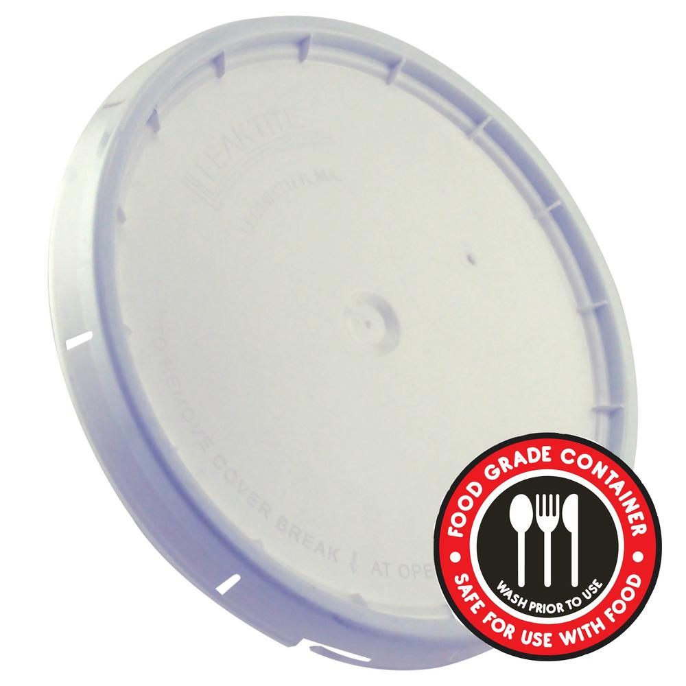 Premium Lid for 5-gal  Food Storage Container (100-Pack)