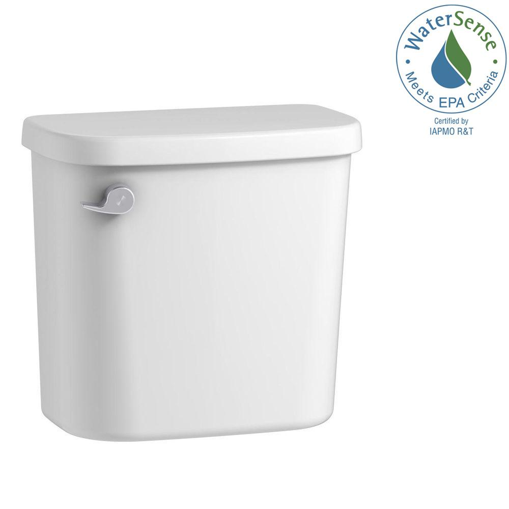 Windham 1.28 GPF Single Flush Toilet Tank Only in White