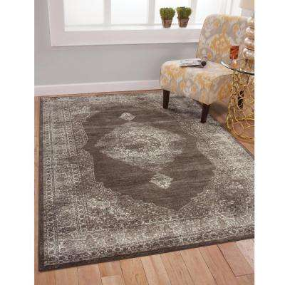 Sonoma Bryson Chocolate 5 ft. 3 in. x 7 ft. 6 in. Area Rug