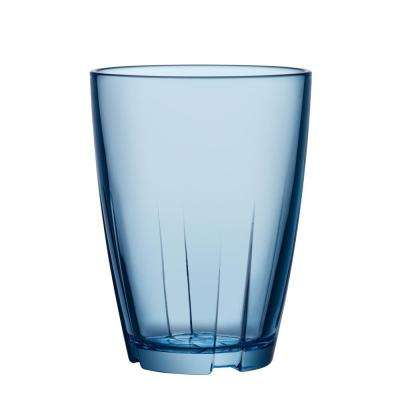 Bruk 11.6 oz. Large Water Blue Tumbler (Set of 8)