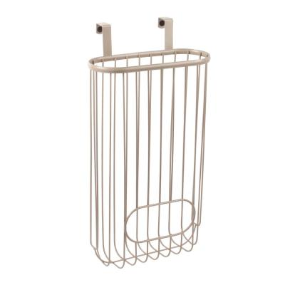 Ashley 15.25 in. x 8.25 in. x 4.25 in. Steel Over the Cabinet Recycling Bag Storage