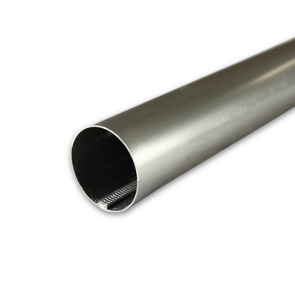 1.5 in. Closet Pole/Single Curtain Rod - Satin Nickel