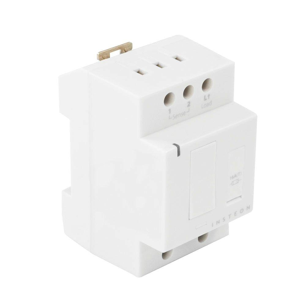300-Watt DIN Rail Dimmer - White