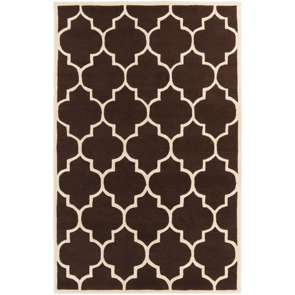 Transit Piper Chocolate 4 ft. x 6 ft. Indoor Area Rug