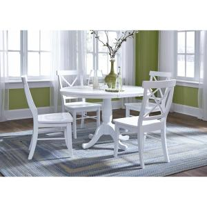Pure White X-Back Chair (Set of 2)