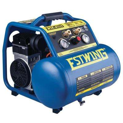 5 Gal. Quiet High Pressure Oil-Free Compressor