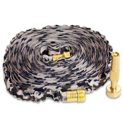 50 ft. HydroHose Deigner Series with Adjustable Brass Nozzle, Camo