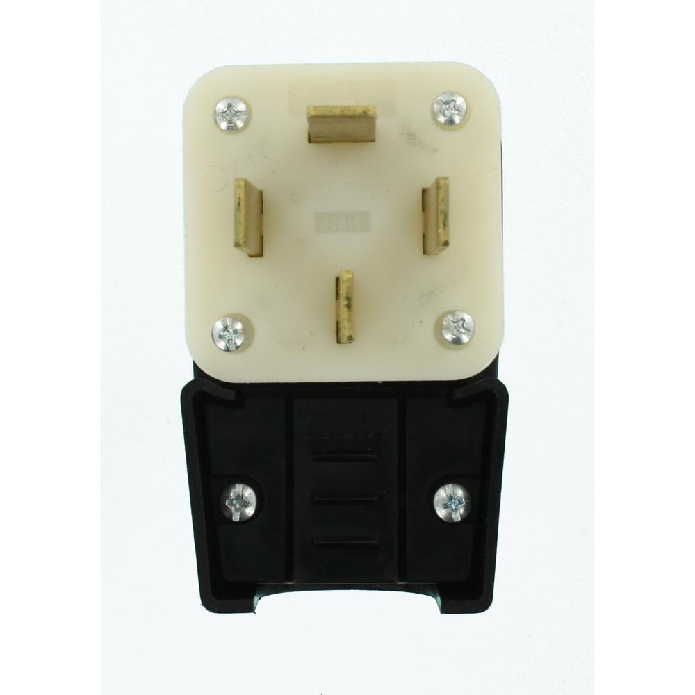 leviton 60 amp 120 208 volt straight blade non grounding. Black Bedroom Furniture Sets. Home Design Ideas