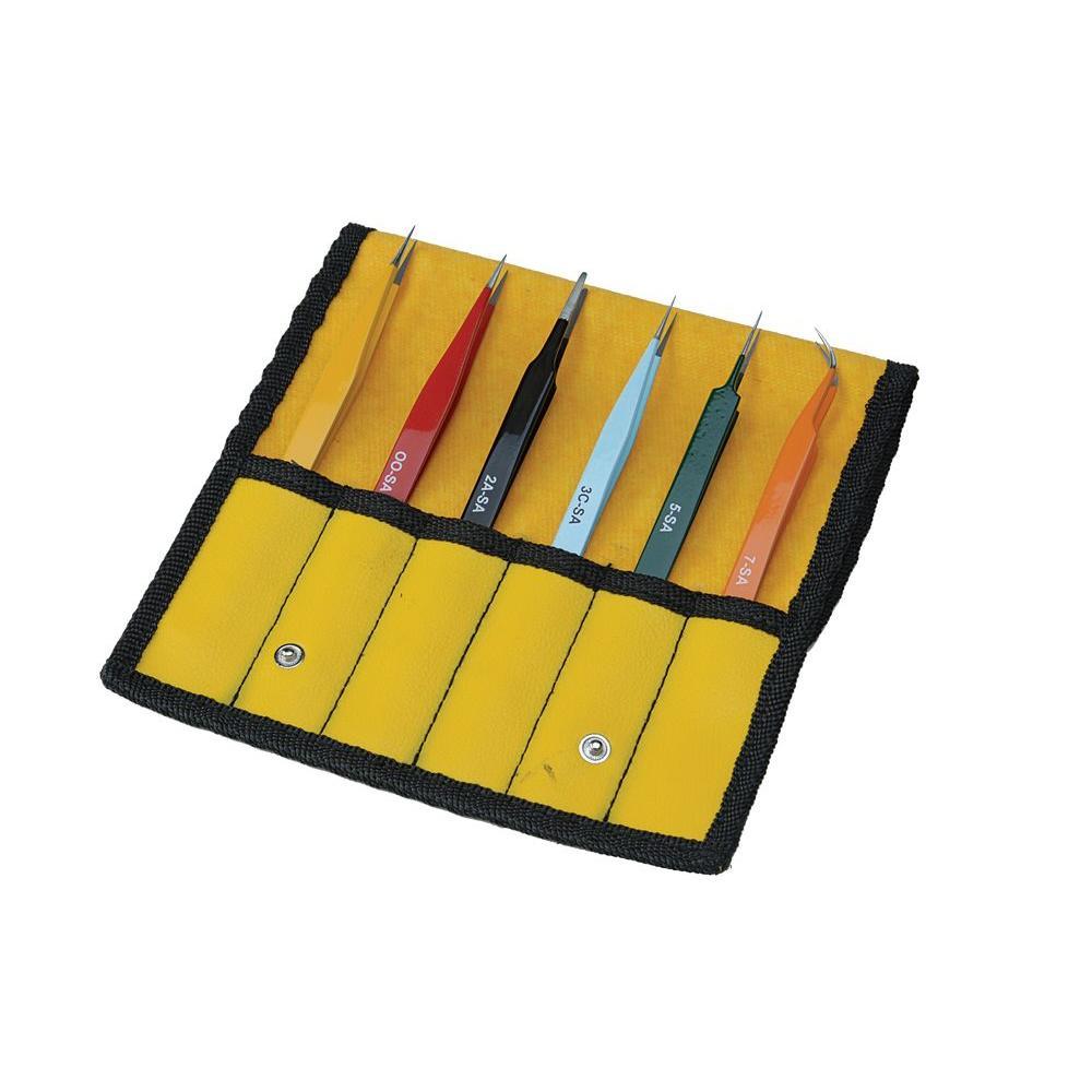 Tweezers Set EZ Pick (6-Piece)
