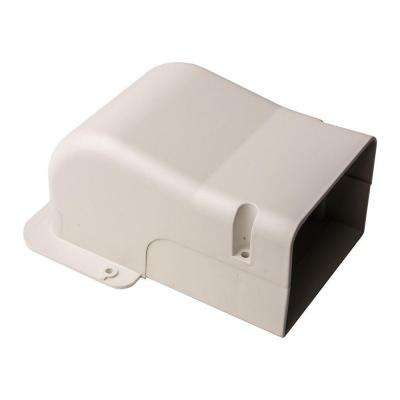 SpeediChannel 4 in. Wall Penetration Cover for Ductless Mini-Split Line-Set Cover System