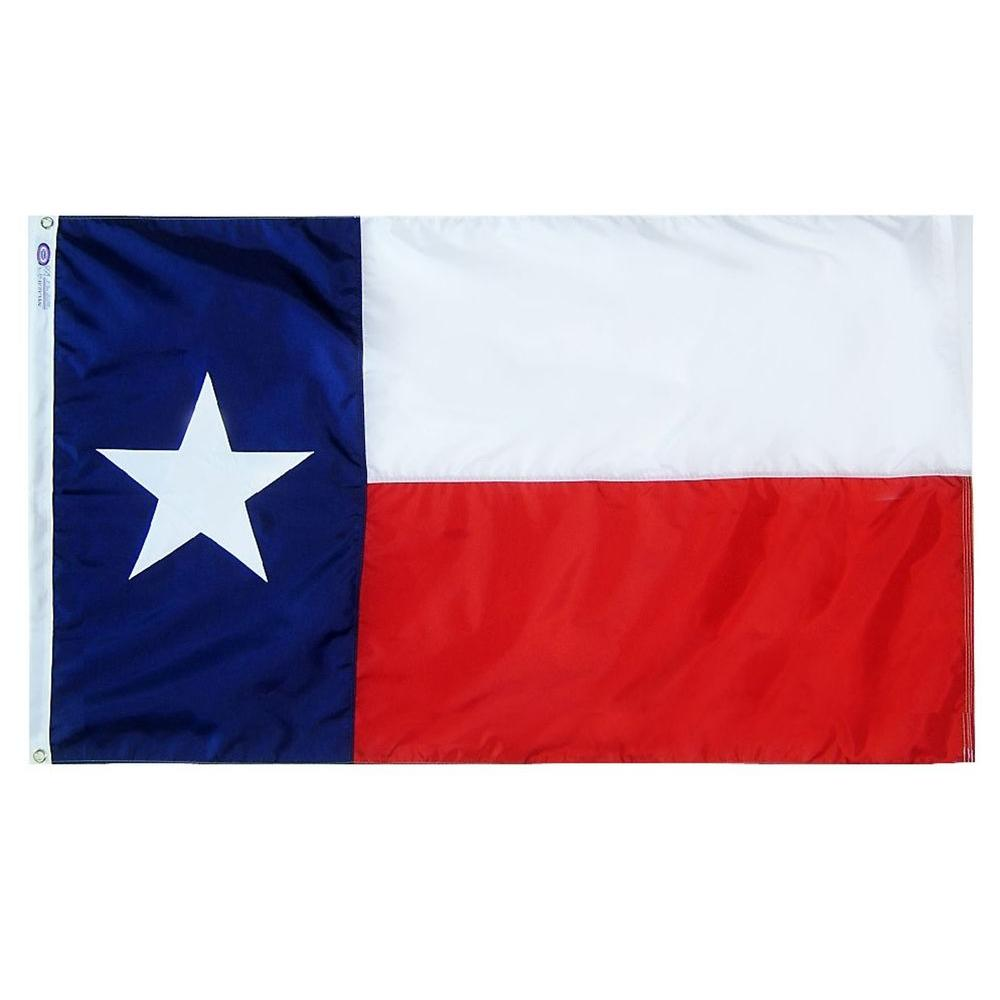 3 ft. x 5 ft. Texas State Flag