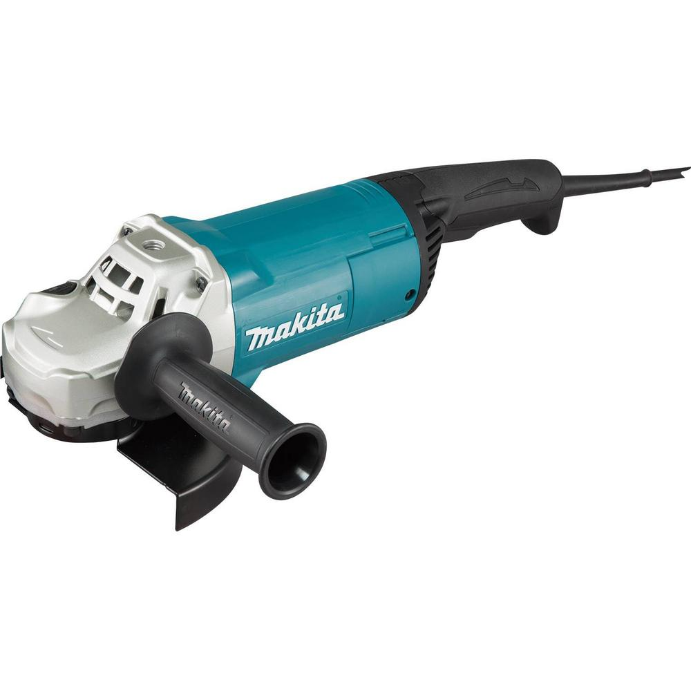 15-Amp Corded 7 in. Angle Grinder