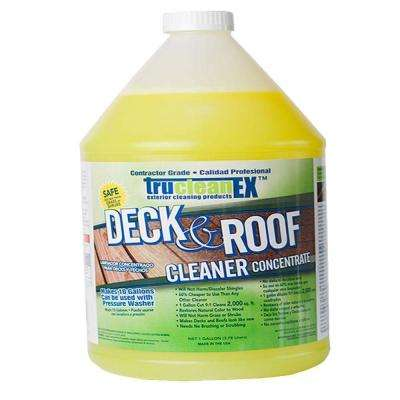 1-gal. TruCleanEX Deck and Roof Cleaner Concentrate
