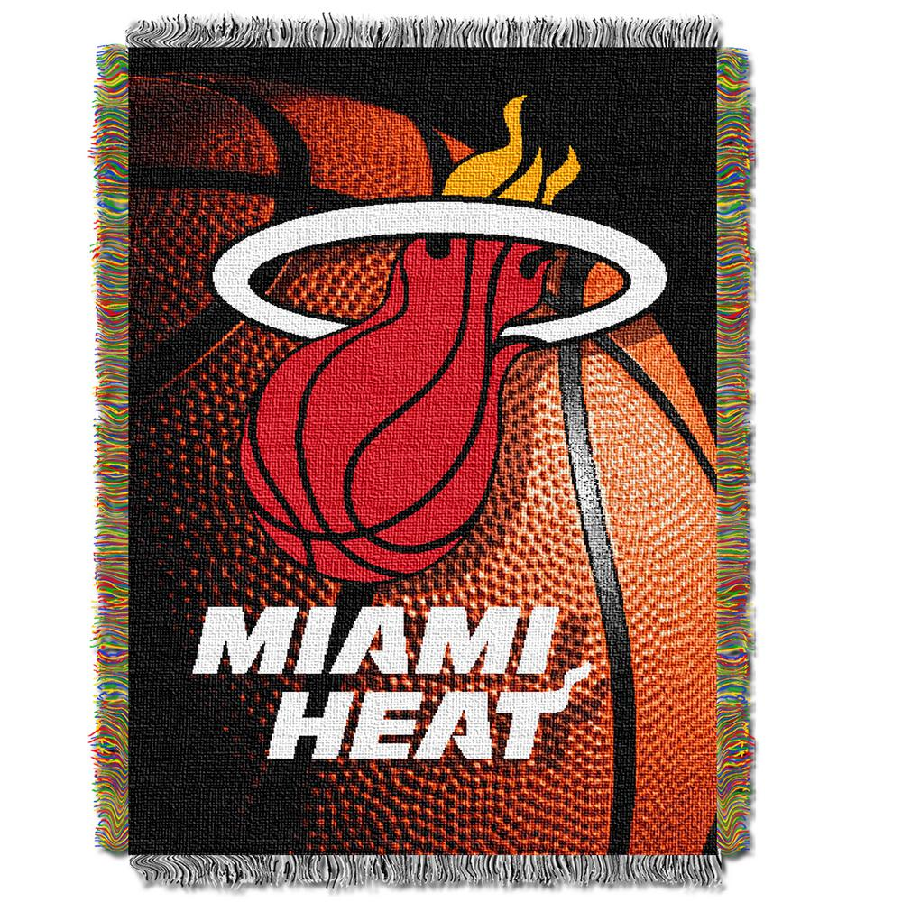 Heat Photo Real Multi Color Polyester Tapestry throw