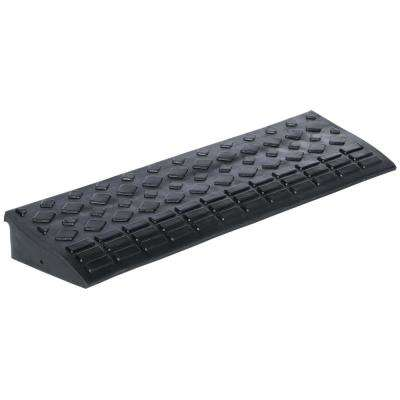 34.875 in. Wide Heavy Duty Rectangular Rubber Ramp