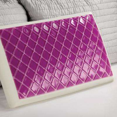 Cooling Gel and Memory Foam Standard Bed Pillow