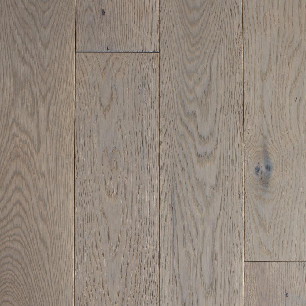Take Home Sample - Castlebury Stonington Brushed White Engineered Hardwood Flooring - 5 in. x 7 in.