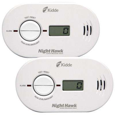 Twin Value Pack CO Alarm with Digital Display